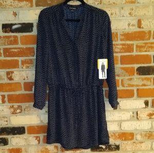 Hilary Radley Hi Lo Hem Drawstring Waist Dress